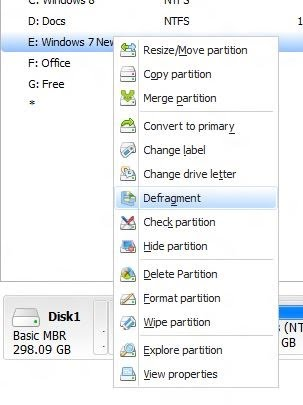 Partition Master Home untuk Windows 8