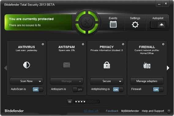 Bitdefender Total Security 2013 Free Public Beta