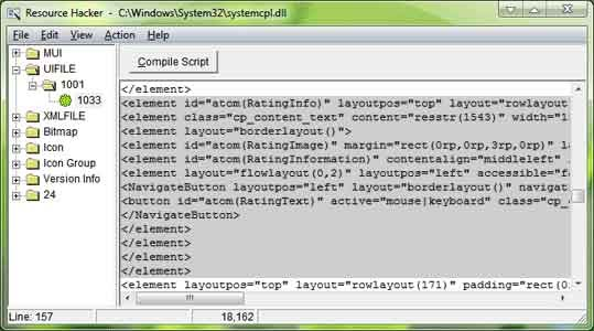 Hapus Windows Experience Index System Properties