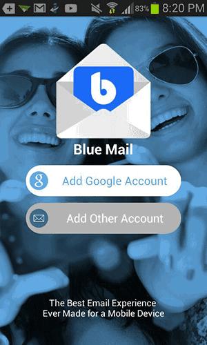Aplikasi Blue Mail