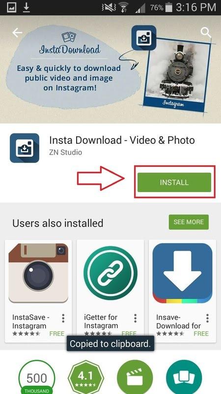 Insta Download- video & photo