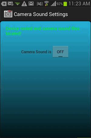 Pilihan OFF Pada Pengaturan Kamera