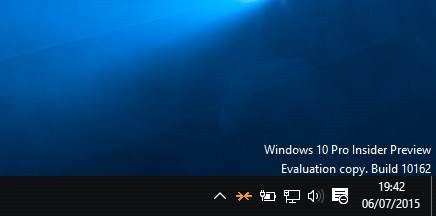 Watermark Windows 10