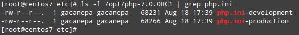 Letak File php.ini PHP 7