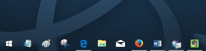 Taskbar & Start Menu Windows 10 Transparan