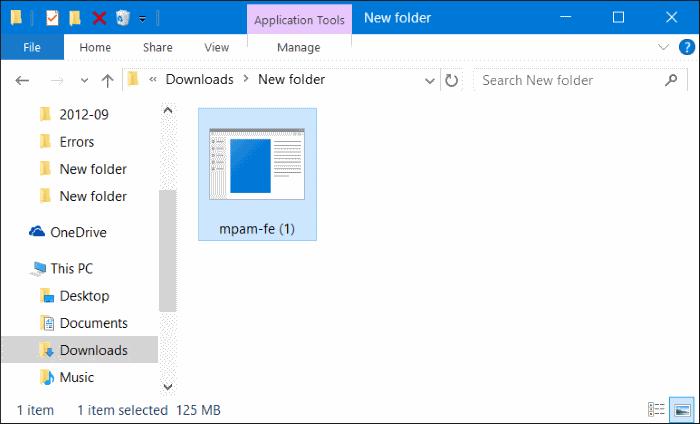 File update offline Windows Defender Windows 10