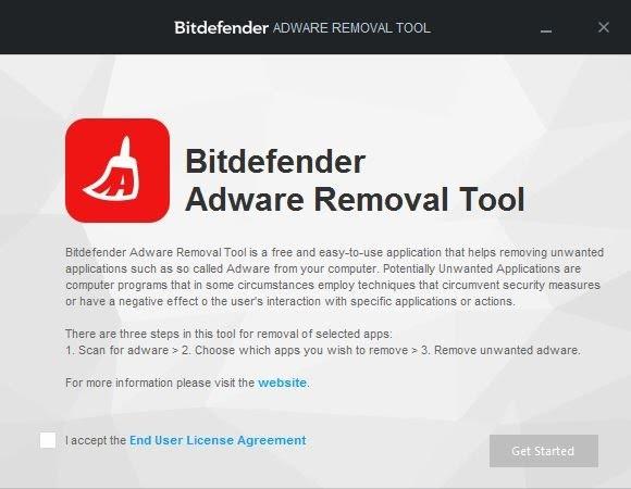 Install Bitdefender Adware Removal Tool