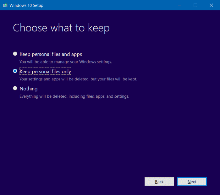 Install ulang Windows 10 tanpa kehilangan data