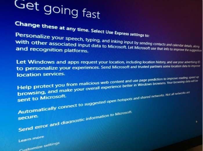Pengaturan Privasi Windows 10