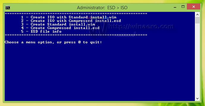 Konversi ESD ke ISO
