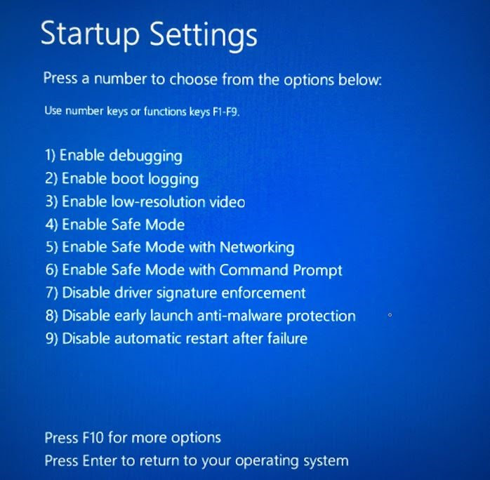 Masuk Safe mode di Windows 10