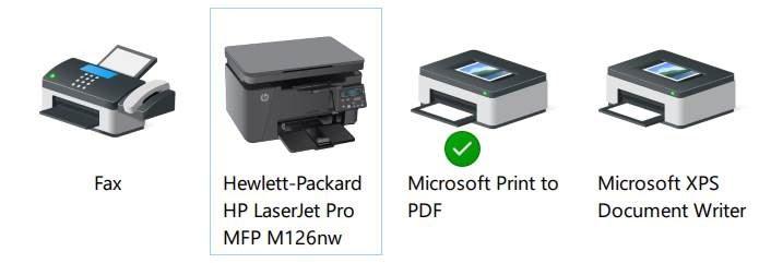 Printer Windows 10